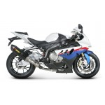 BMW S1000RR 09-13 - Akrapovic Ligne complète RACING Sil. Titane Homologuée + db killer