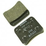 CBR600F 01-03 - FERODO FDB2079 CP211 RACING PLAQUETTE AV. (PAIRE)