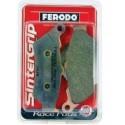 DUCATI 998 (02-04) - FERODO XRAC FRONT BRAKE PADS (PAIRE) RACING ENDURANCE