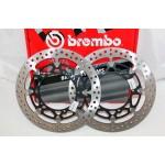 HONDA CBR600RR (03-11) - BREMBO Paire de Disque de Frein HPK T-DRIVE 310MM