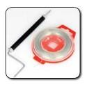Kit Outil à torsader + Fil a freiner (fil frein) bobine, fil inox 0.7mm x 30m