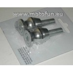 Diabolo en aluminium couleur ALU avec boulon de 10mm (M10)