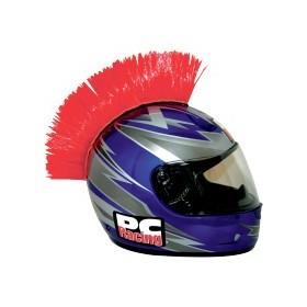 8e81eaa5d97 Crete ROUGE Mohawk pour casque moto PC Racing - MOTOFUN