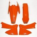 UFO KIT PLASTIQUES pour KTM SX-SXF 2T/4T 05-06 (KTKIT-503) NOIR