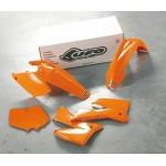 UFO KIT PLASTIQUES pour KTM SX-SXF 2T/4T 07-08 (KTKIT-506) ORANGE