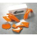 UFO KIT PLASTIQUES pour KTM SX-SXF 2T/4T 11-12 (KTKIT-510) ORANGE