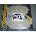 .UNIVERSEL3 - SPORTBIKE RACER OVAL StompGrip Traction Pad