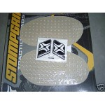 .UNIVERSEL2 - SPORTBIKE RACER OVAL 222x120mm StompGrip Traction Pad