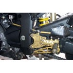 R1 (98-03) - GILLES TOOLING COMMANDE RECULEE AJUSTABLE, REPOSES PIEDS FIXE