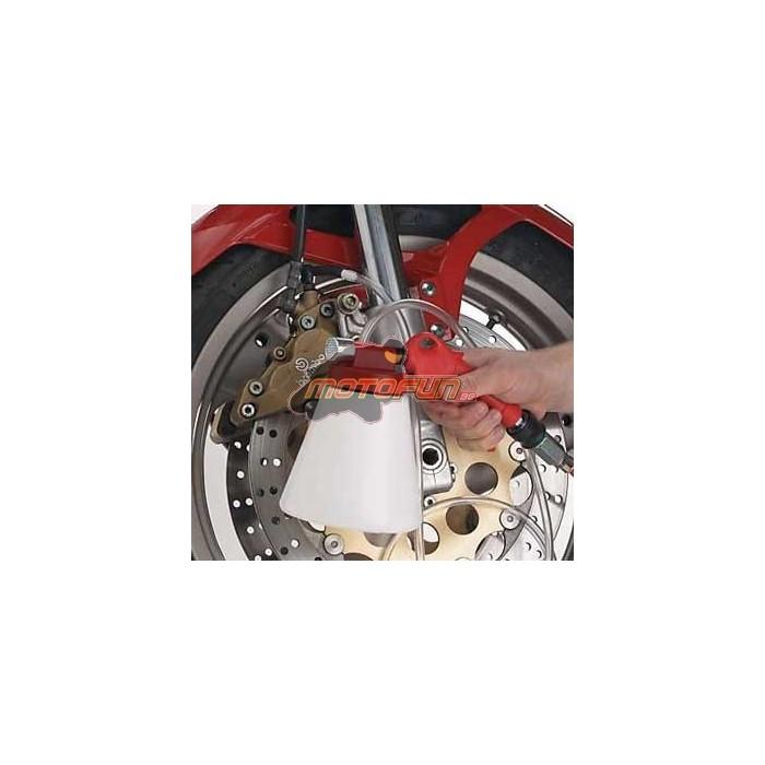 purgeur de freins a depression pour moto et auto nouveau mod le motofun. Black Bedroom Furniture Sets. Home Design Ideas