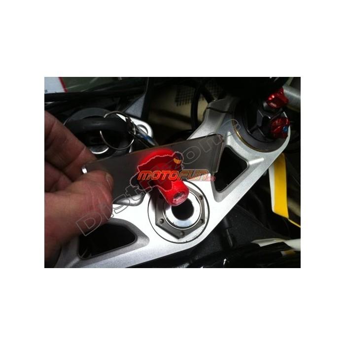 adsgps support fixation avec vis m8x30 pour t de fourche moto motofun. Black Bedroom Furniture Sets. Home Design Ideas