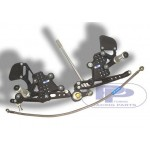 HONDA CBR 1000 RR (08-09) - PPTUNING Commande Reculée Ajustable, boite Standard incl. durite avia. frein arr.
