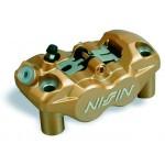 Etrier de frein moto NISSIN 4 pistons entraxe 108mm Montage RADIAL