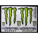 Monster Energy - Sticker/Autocollant Extra large 24x34cm