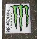 Monster Energy - Sticker/Autocollant Large 20x24cm