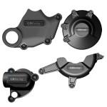 Ducati 848 08-13 - GBRacing Kit de Protection Carters Moteur