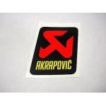 Akrapovic - Pièce Détachée - P-VST2AL - Autocollant - sticker 75x75 mm