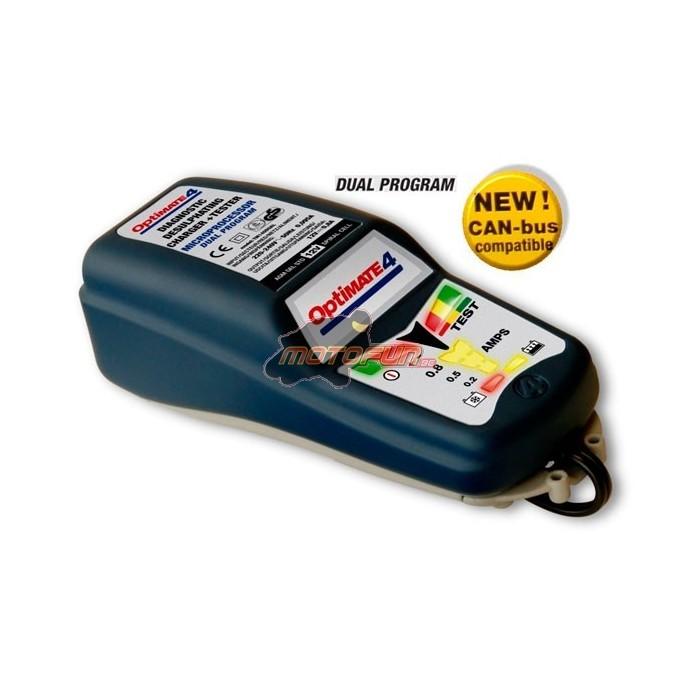 optimate 4 can bus edition special bmw chargeur de batterie optimiseur tm 246 motofun. Black Bedroom Furniture Sets. Home Design Ideas