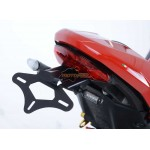 Ducati Monster 1200 / S / Supersport (S) (17- ) - SUPPORT DE PLAQUE R&G RACING