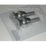 Diabolo en aluminium couleur NOIR avec boulon de 10mm (M10)