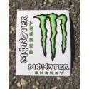 Monster Energy - Sticker/Autocollant Small 10x12cm